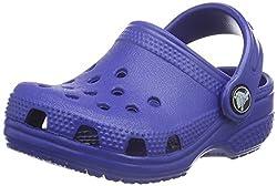 Crocs Littles Boys Clog in Blue