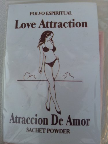 POLVO ESPIRITUAL LOVE ATTRACTION ATRACCION De AMOR POWDER – 1/2 oz pkt .