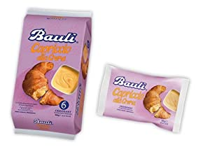 Bauli Vanilla Croissants 1.8 oz. (Pack of 6) by Bauli
