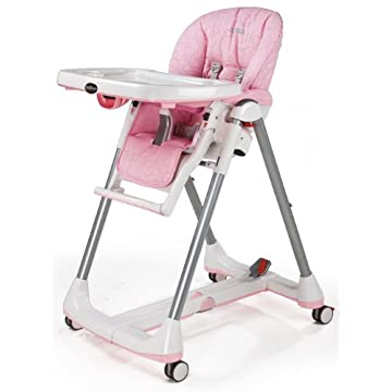 Peg-Perego Prima Pappa Diner High Chair, Savana Rose