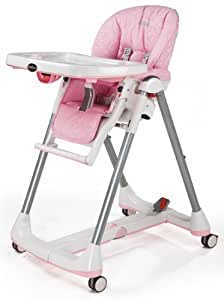 Peg-Perego Prima Pappa Diner High Chair, Savana Rose