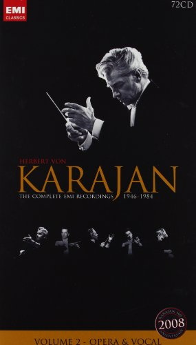 Karajan 100th - Volume 2, Opera and Vocals by Wolfgang Amadeus Mozart, Pietro Mascagni, Giacomo Puccini, Johann II [Junior] Strauss and Bedrich Smetana