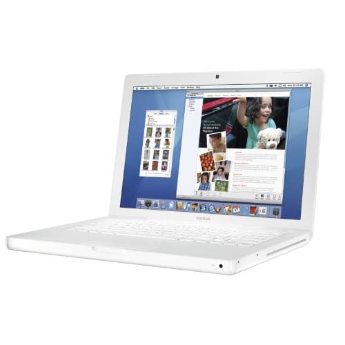 "Apple REFURBISHED MacBook 13"" White Intel Core 2 Duo T7200, 2.0 GHZ, 1GB, 120 Gb Hard Drive, DVD Burner, Wi-fi, Camera, Mac Os 10.6 at Sears.com"