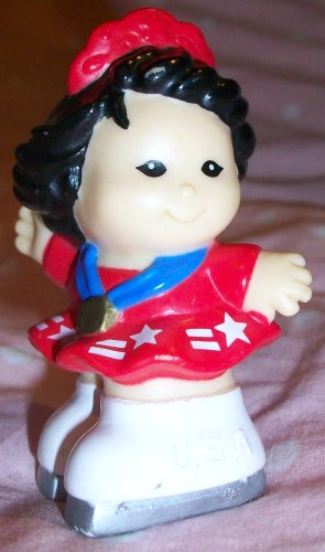 Buy Low Price Mattel Fisher Price Little People Sonya Lee Replacement Figure Doll Toy (B0021Q0JB6)