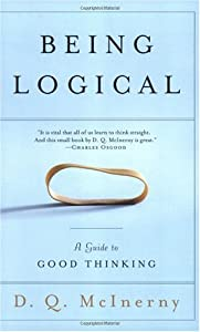 "Cover of ""Being Logical: A Guide to Good ..."