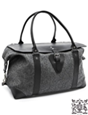 Best of British Pure Wool Large Herringbone Holdall