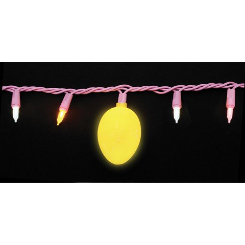 Easter String Lights w/50 lights & 12 Spotted Eggs