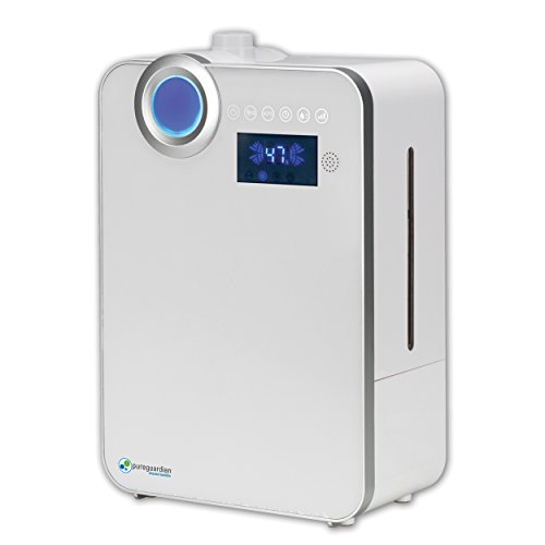 PureGuardian H7550 90-Hour Smart Mist Ultrasonic Humidifier,1.32-Gallons - 1