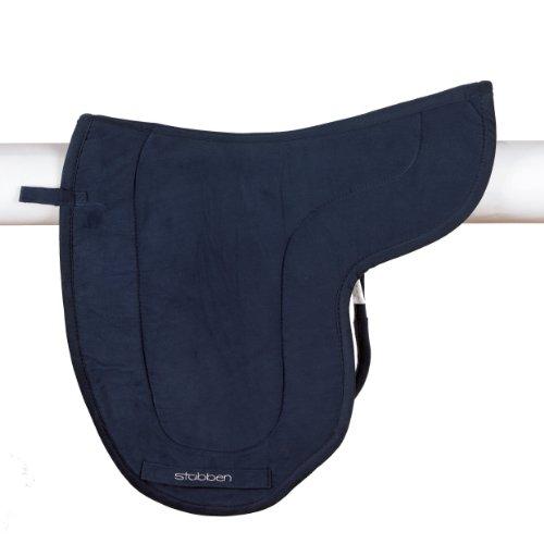 Stübben Satteldecke Dressur mit Klett - blau