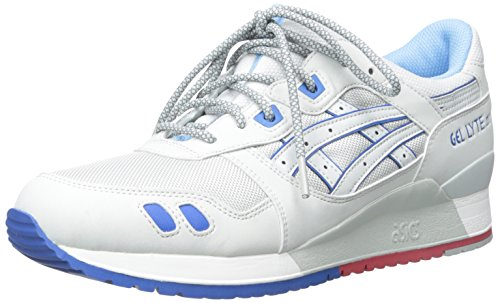 ASICS GEL Lyte III Retro Running Shoe, Soft Grey/Soft Grey, 9.5 M US