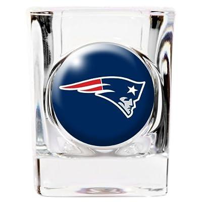 New England Patriots Square Shot Glass - 2 oz.