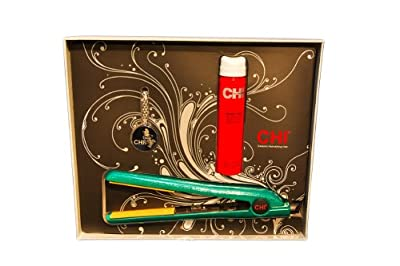Best Cheap Deal for Ceramic 1 Inch Flat Iron GF1001, Emerald Glitter by Chi - Free 2 Day Shipping Available