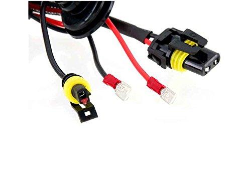 Generic 2Pcs 12V 35W H7-4200K Auto Car Headlight Hid Single Xenon Bulbs (Black)