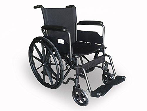 Sedia a rotelle S220 acciaio e autopropulsable 43