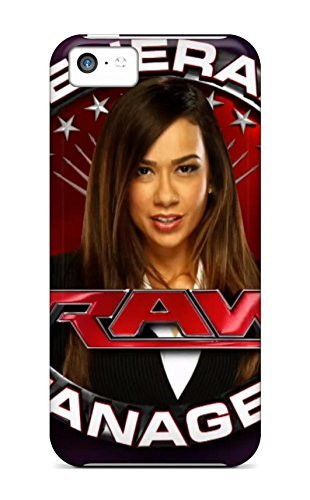 Tpu Fashionable Design Aj Lee Wwe Raw Gm Rugged Case Cover For Iphone 5c New (Wwe Raw Full Show compare prices)