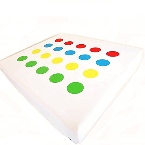 Twistex Novelty Bed Sheet Queen Size Twister Print Fitted Sheet (Twister Sheets Queen compare prices)