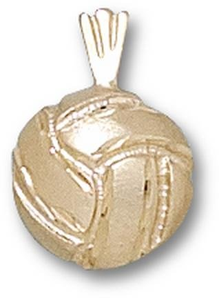 Volleyball Pendant - 10KT Gold Jewelry