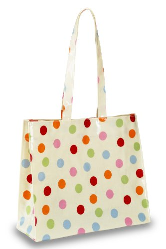 Cooksmart Spots Pvc Large Shopping Bag