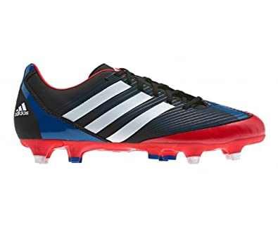 ADIDAS Incurza TRX SG Men's Rugby Boots, Black/White/Red, UK12