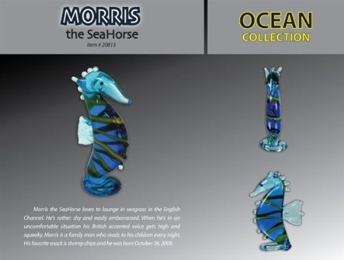 Looking Glass Morris the SeaHorse