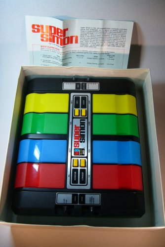 Super Simon, 1979 Vintage computer controlled Memory Game