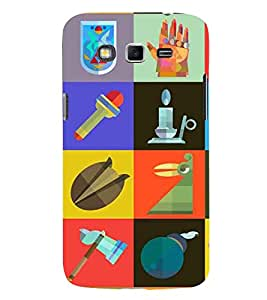 EPICCASE essentials Mobile Back Case Cover For Samsung Galaxy Grand (Designer Case)