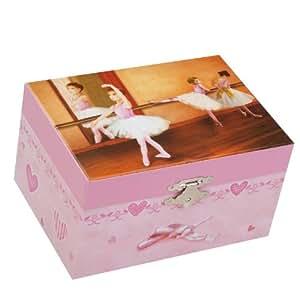 "Musicboxworld Jewellery Box Ballerina Playing ""It's a small world"""