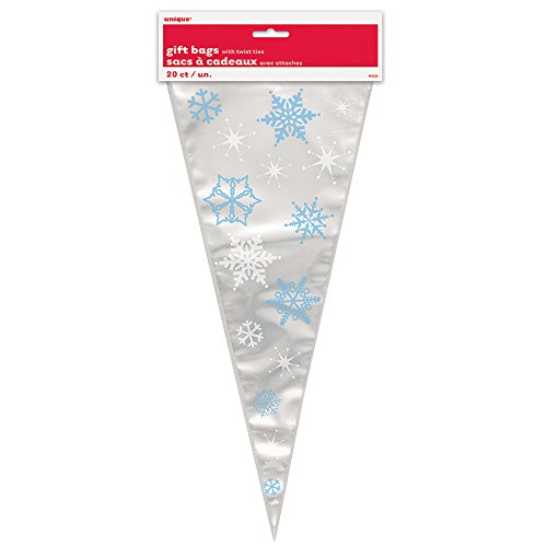 winter-snowflakes-cone-cellophane-bags-pack-of-20