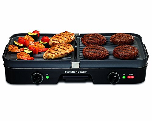 Brand New 3 In 1 Large Electric Grill Griddle Indoor Cooking Removable Nonstick Grids Food