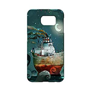 BLUEDIO Designer 3D Printed Back case cover for Samsung Galaxy S6 - G3595