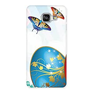 Delighted Animated Butterflies Print Back Case Cover for Galaxy A3 2016