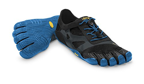 Vibram FiveFingers Men's KSO EVO Barefoot Shoes Black / Blue