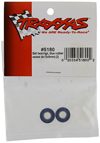 Traxxas 5180 Ball Bearings 6x13x5mm, 2-Piece