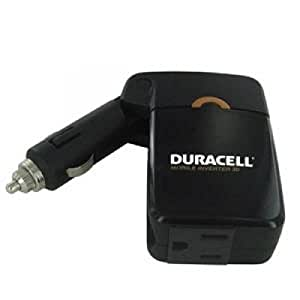 Battery Biz DRINVM30 DURACELL 30W MOBILE INVERTER CONVERTS POWER TO ACU+SB DEVICES