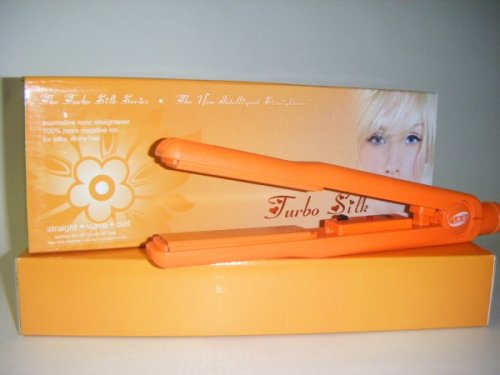 Iso Professional Tourmaline Ceramic Hair Straightener Orange New!