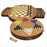 41J8OcbpcGL. SL160  12 3 in 1 Combination Game Set   Chess, Checkers & Chinese Checkers