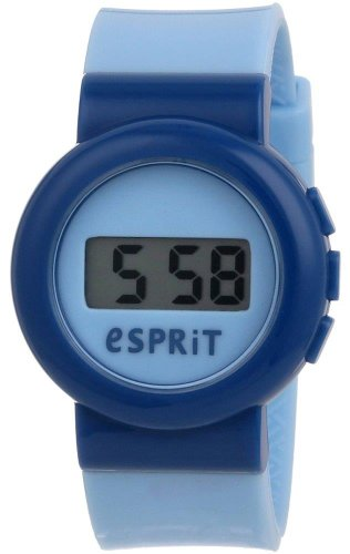 Esprit Kids - ES105264001 - Digital Swap - Montre Mixte - Quartz Digital - Cadran Bleu - Bracelet Plastique Bleu