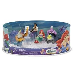 Amazon Com Disney The Little Mermaid Figurine Set Toys