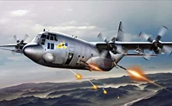 Italeri - I1310 - Maquette - Aviation - AC-130H Spectre - Echelle 1:72