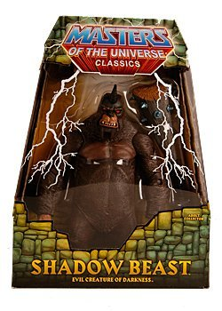 Picture of Mattel HeMan Masters of the Universe Classics Exclusive 9 Inch Deluxe Action Figure Shadow Beast (B004OSO3MA) (Mattel Action Figures)