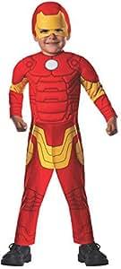 muscular acolchado pecho del traje de Iron Man, Niño pequeño : Baby