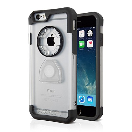 Rokform iPhone 6/6s Crystal Series Case/Cover, Slim, Rugged, Ultra Protective, Reinforced TPU Corners Molded to Tough Polycarbonate, Mounts anywhere and