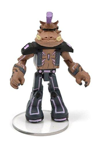 """Teenage Mutant Ninja Turtles Nickelodeon Minimates 2"""" Figure Series 3 Bebop Mini Figure (Opened to Identify)"""