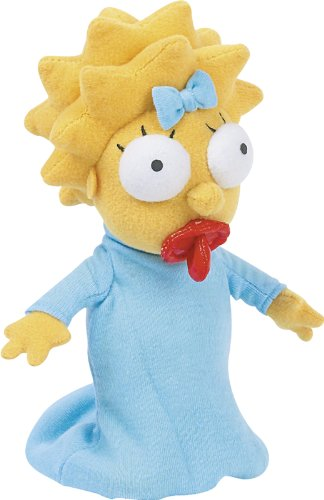 The Simpsons - Merchandise - Plush Doll (Maggie) (Size: 12 in height) by Merchandiseonline