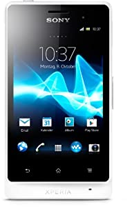 Sony Xperia go Smartphone (8,9 cm (3,5 Zoll) Touchscreen, 5 Megapixel Kamera, Android 2.3) weiß