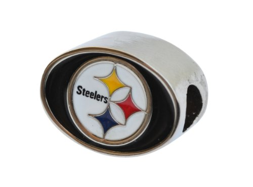 Pittsburgh Steelers Charm Bead Fits Most Pandora