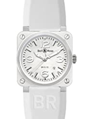 NEW BELL & ROSS BR03-92 AUTOMATIC WATCH BR 03-92 WHITE CERAMIC
