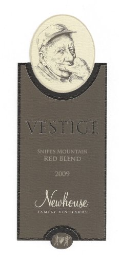 "2009 Newhouse Upland Vineyards Snipes Mountain ""Vestige"" Blend - Red 750 Ml"