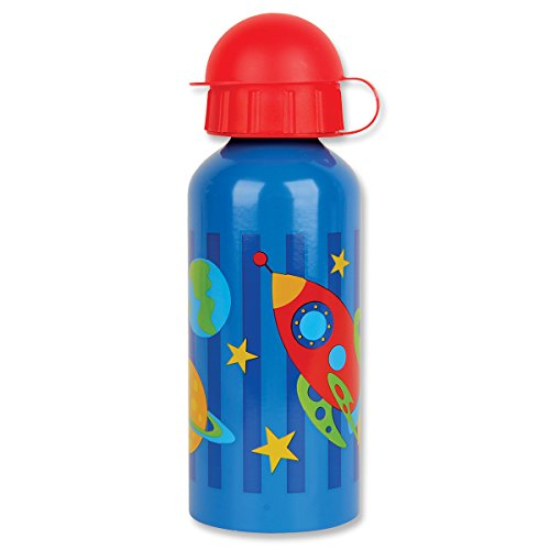 Stephen Joseph Space Stainless Steel Water Bottle, Multicolor