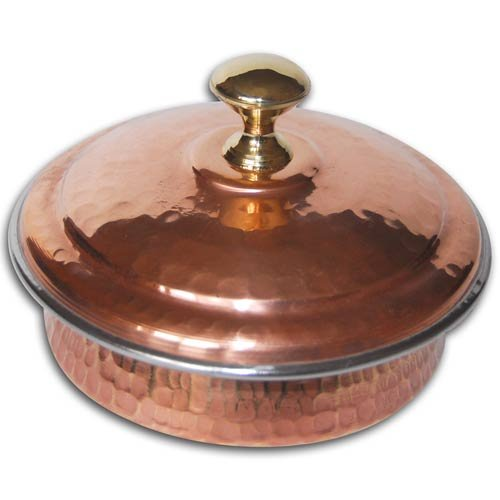 Kitchen Accessories Indian Copper Bowl Diameter 5 in